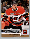 2017-18 Upper Deck CHL #393 Nikita Okhotyuk RC Rookie SP Ottawa 67's Star Rookies Canadian Hockey League Card