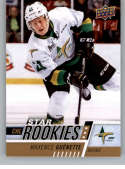 2017-18 Upper Deck CHL #394 Maxence Guenette RC Rookie SP Val-d'Or Foreurs Star Rookies Canadian Hockey League Card