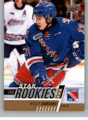 2017-18 Upper Deck CHL #396 Riley Damiani RC Rookie SP Kitchener Rangers Star Rookies Canadian Hockey League Card