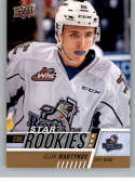 2017-18 Upper Deck CHL #400 Igor Martynov RC Rookie SP Victoria Royals Star Rookies Canadian Hockey League Card