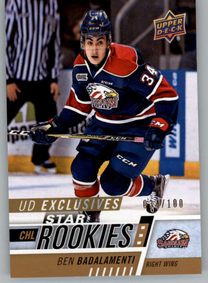 2017-18 Upper Deck CHL Exclusives