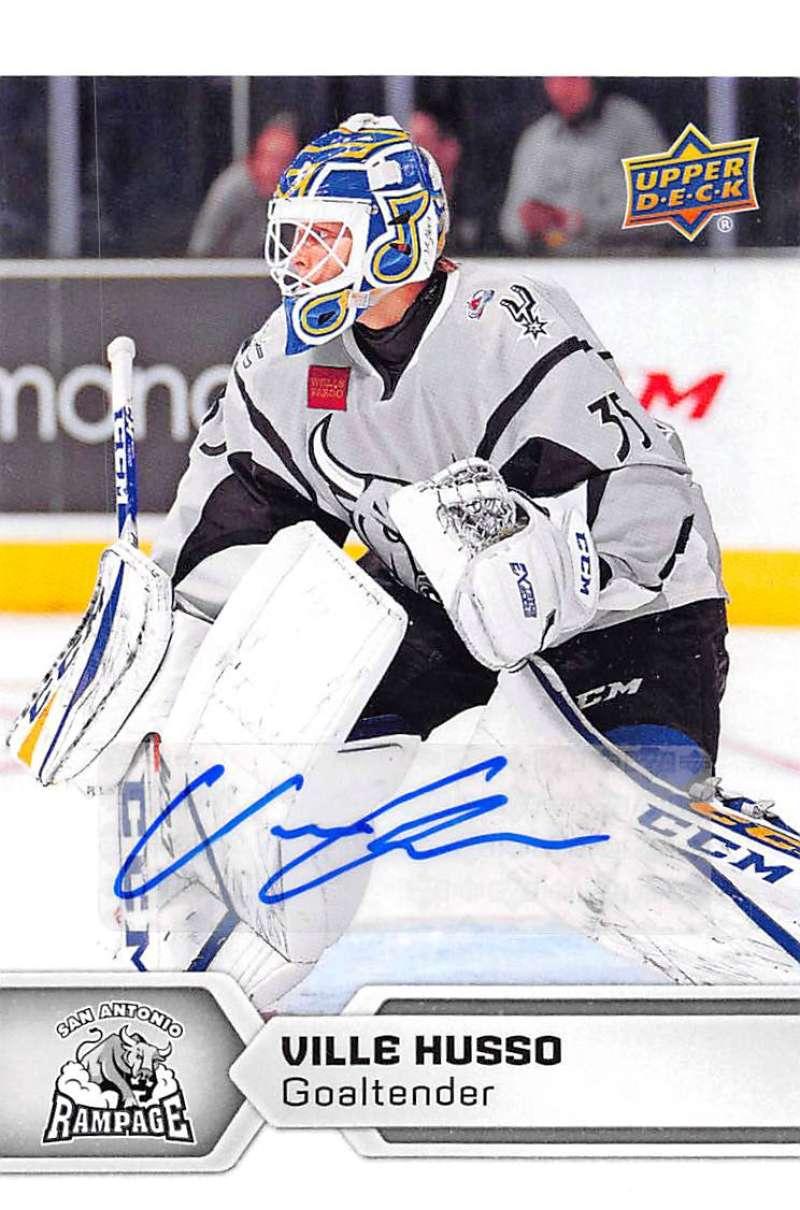 2017-18 Upper Deck AHL Autographs