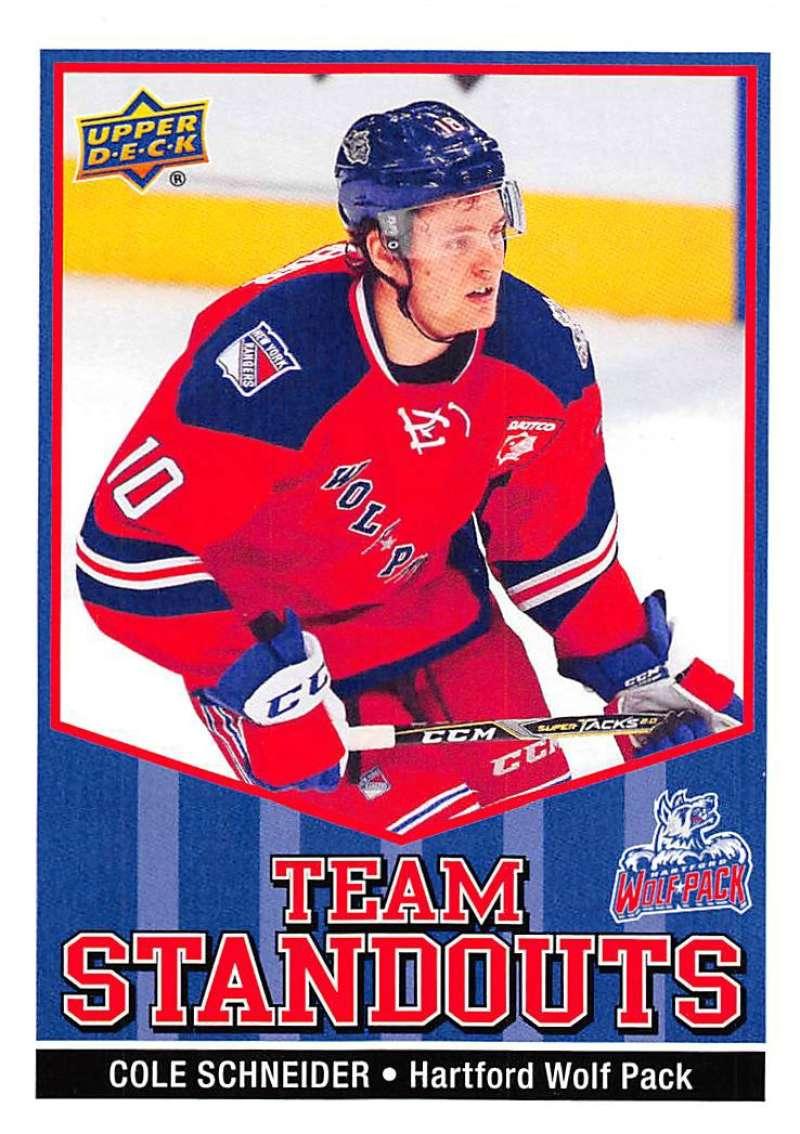 IJshockey 2017-18 Upper Deck AHL Jack Roslovic Team Standouts #TS-14