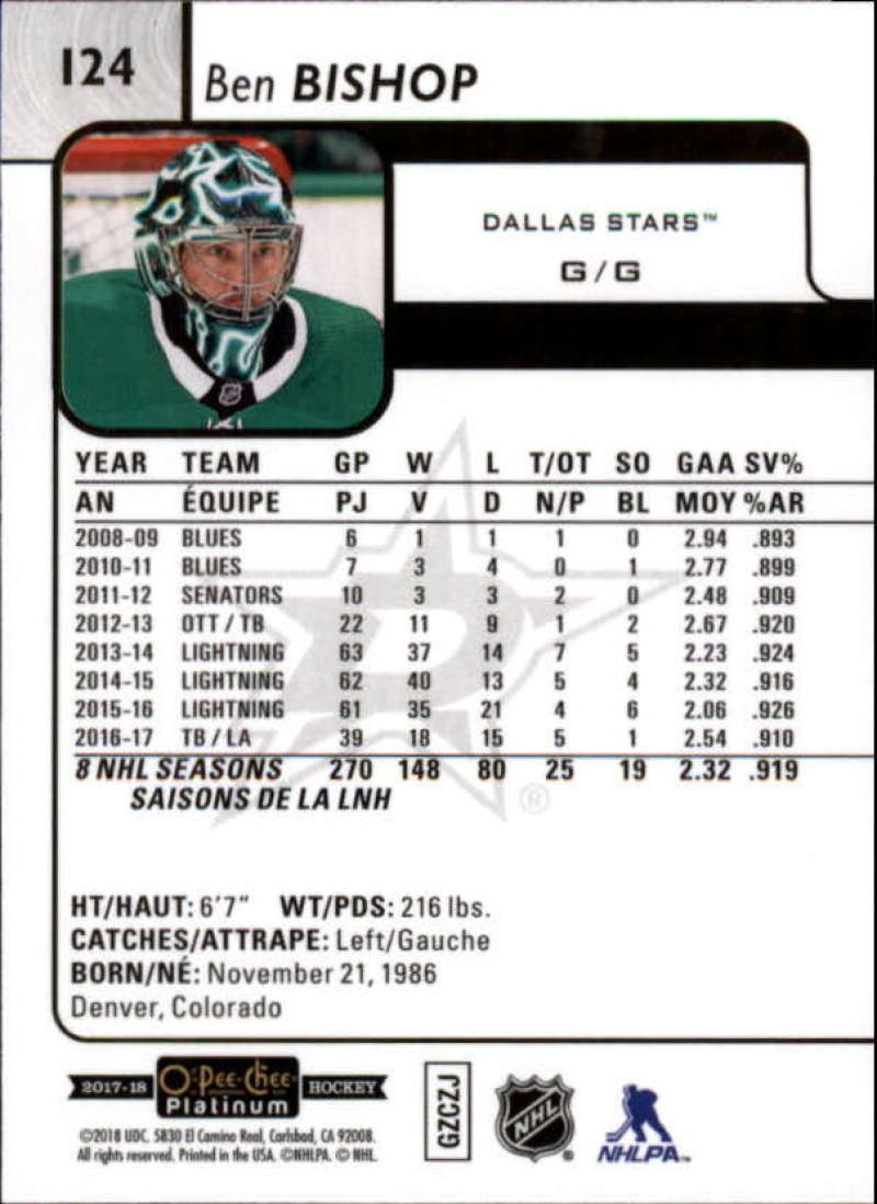 2017-18-O-Pee-Chee-Platinum-Hockey-Base-Set-Cards-Choose-Card-039-s-1-200 thumbnail 139
