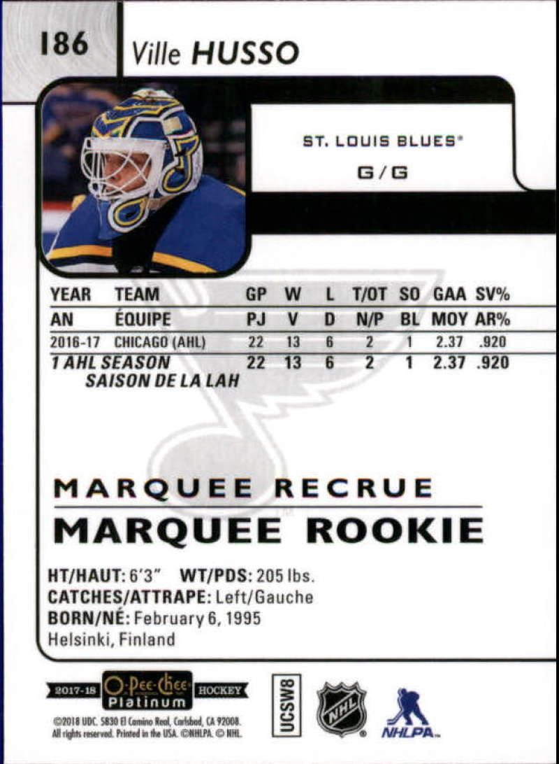 2017-18-O-Pee-Chee-Platinum-Hockey-Base-Set-Cards-Choose-Card-039-s-1-200
