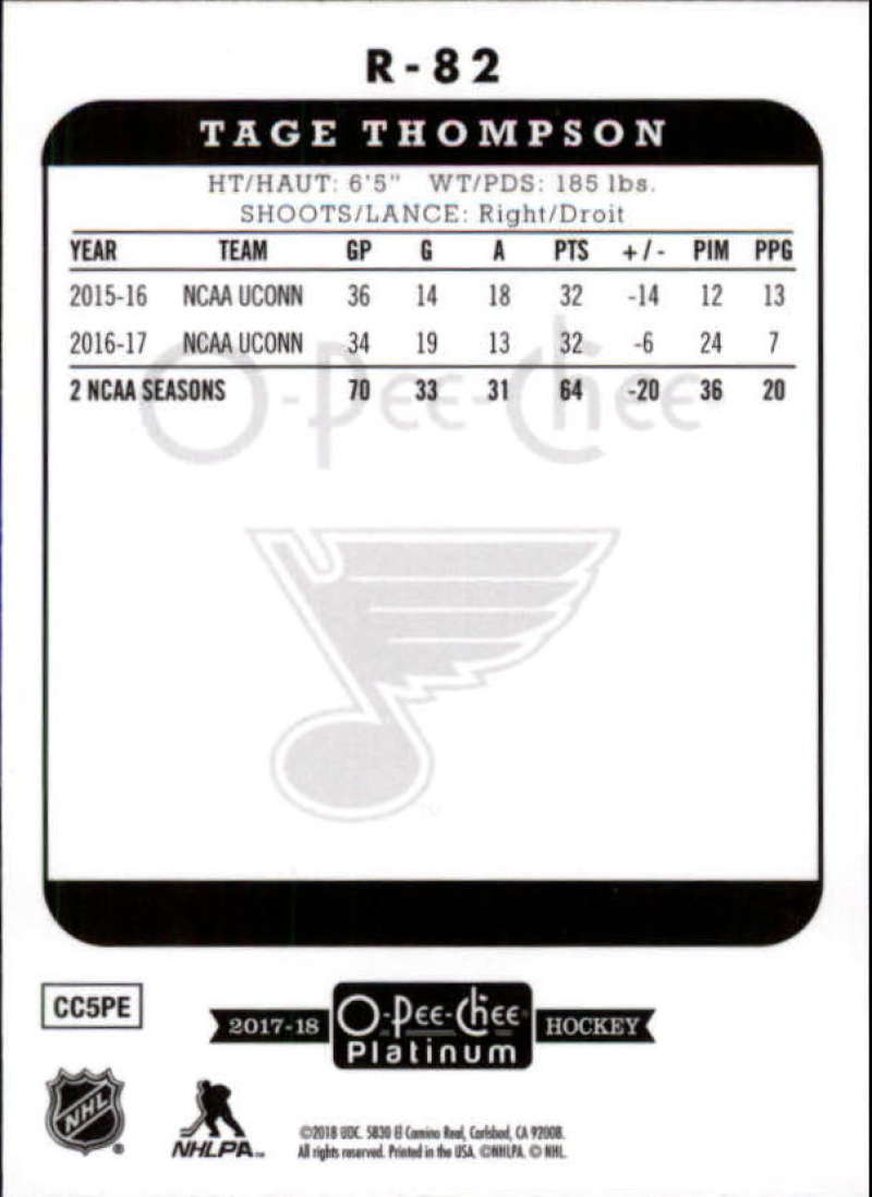 2017-18-O-Pee-Chee-Platinum-Retro-Inserts-Rookie-RC-NHL-Hockey-Cards-You-Pick miniature 56