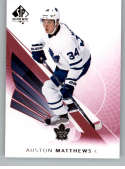 2017-18 SP Authentic Limited Red #10 Auston Matthews Toronto Maple Leafs NHL Hockey Card