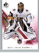 2017-18 SP Authentic Limited Red #31 Marc-Andre Fleury Vegas Golden Knights NHL Hockey Card