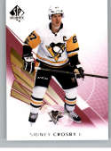 2017-18 SP Authentic Limited Red #45 Sidney Crosby Pittsburgh Penguins NHL Hockey Card