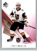 2017-18 SP Authentic Limited Red #90 James Neal Vegas Golden Knights NHL Hockey Card