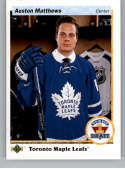 2017-18 SP Authentic 1990-91 Retro Draft Picks #RDP-AM Auston Matthews Toronto Maple Leafs NHL Hockey Card