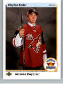 2017-18 SP Authentic 1990-91 Retro Draft Picks #RDP-CK Clayton Keller Arizona Coyotes NHL Hockey Card