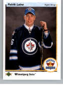 2017-18 SP Authentic 1990-91 Retro Draft Picks #RDP-PL Patrik Laine Winnipeg Jets NHL Hockey Card
