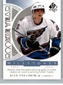 2017-18 SP Authentic Rookie Year Milestones #RYM-AO Alexander Ovechkin Washington Capitals NHL Hockey Card