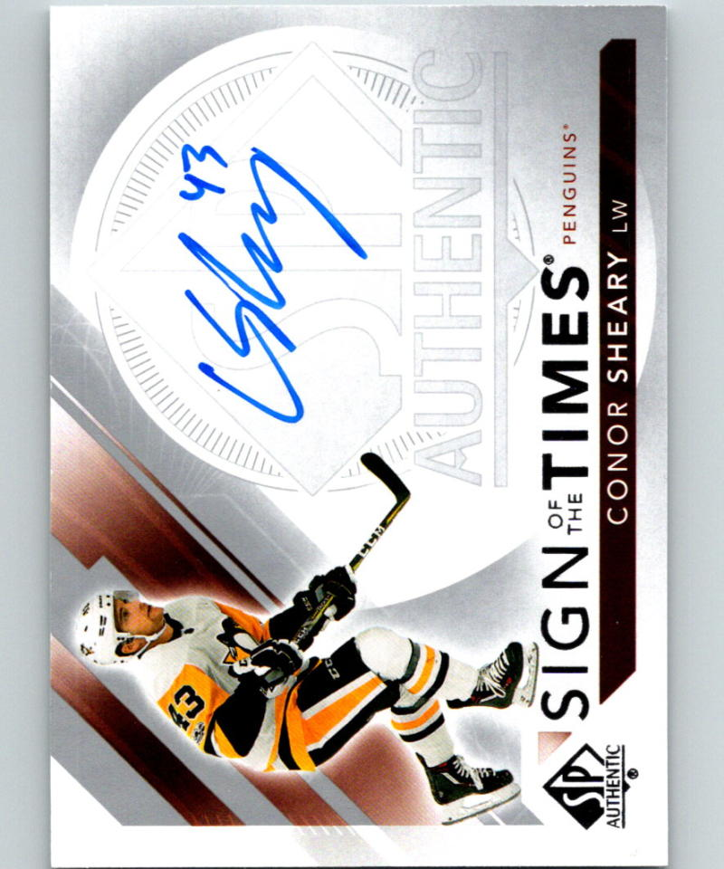 2017-18 SP Authentic Sign of the Times Autographs