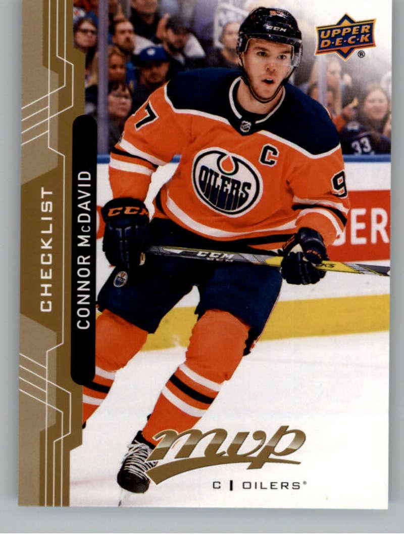 2018-19 Upper Deck MVP #200 Connor McDavid Edmonton Oilers  Offiical NHL Hockey Trading Card