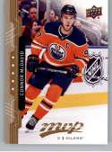 2018-19 UD MVP #219 Connor McDavid Edmonton Oilers NM-MT
