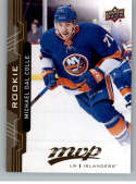 2018-19 UD MVP #221 Michael Dal Colle RC Rookie Card New York Islanders NM-MT