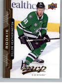 2018-19 UD MVP #222 Dillon Heatherington RC Rookie Card Dallas Stars NM-MT