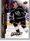 2018-19 UD MVP #224 Daniel Brickley RC Rookie Card Los Angeles Kings NM-MT