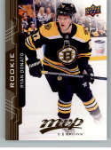 2018-19 UD MVP #232 Ryan Donato RC Rookie Card Boston Bruins NM-MT