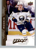 2018-19 UD MVP #233 Casey Mittelstadt RC Rookie Card Buffalo Sabres NM-MT