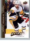 2018-19 UD MVP #236 Zach Aston-Reese RC Rookie Card Pittsburgh Penguins NM-MT