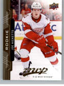 2018-19 UD MVP #240 Joe Hicketts RC Rookie Card Detroit Red Wings NM-MT