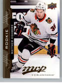 2018-19 UD MVP #242 Matthew Highmore RC Rookie Card Chicago Blackhawks NM-MT