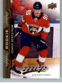 2018-19 UD MVP #243 Henrik Borgstrom RC Rookie Card Florida Panthers NM-MT