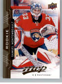 2018-19 UD MVP #244 Samuel Montembeault RC Rookie Card Florida Panthers NM-MT