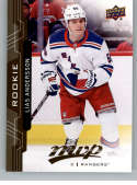 2018-19 UD MVP #246 Lias Andersson RC Rookie Card New York Rangers NM-MT