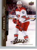 2018-19 UD MVP #247 Warren Foegele RC Rookie Card Carolina Hurricanes NM-MT