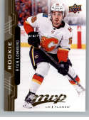 2018-19 UD MVP #248 Ryan Lomberg RC Rookie Card Calgary Flames NM-MT