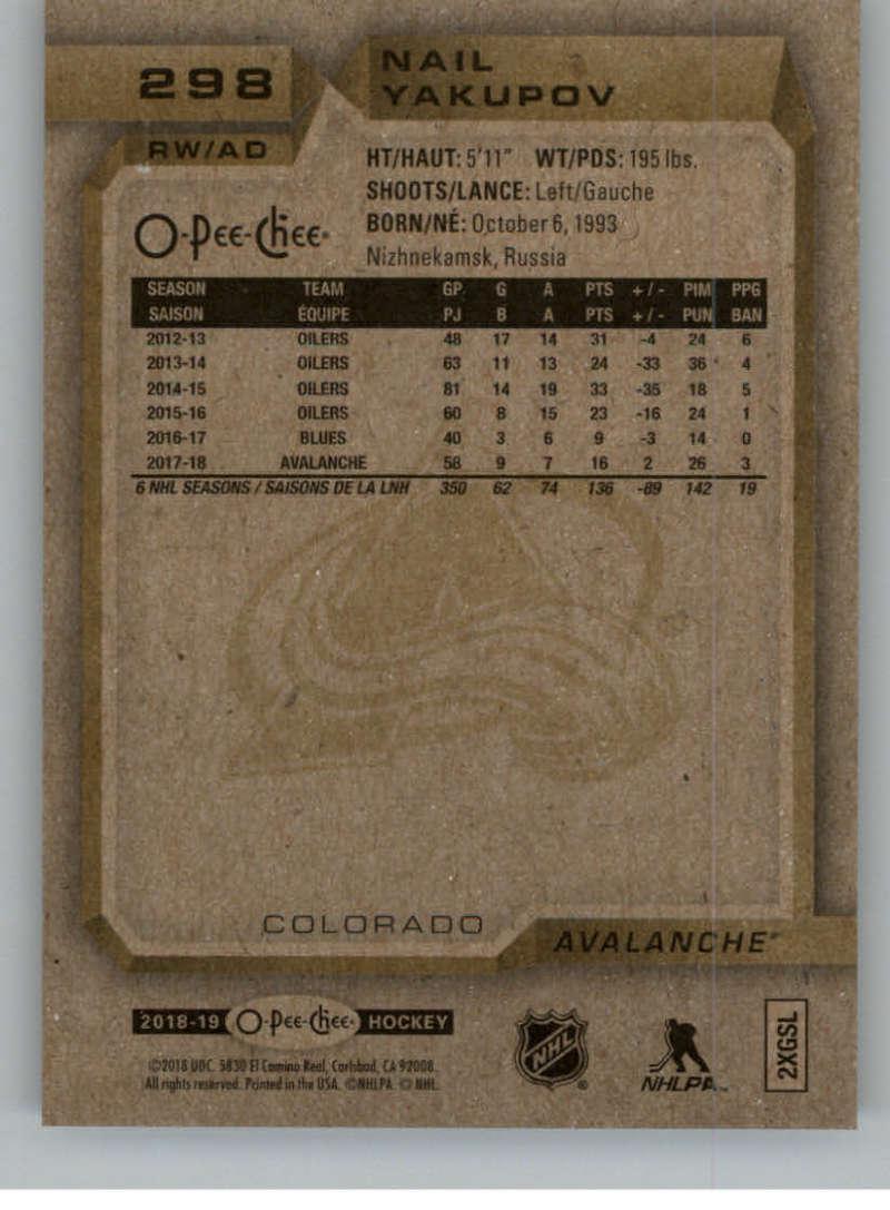 2018-19-OPC-O-Pee-Chee-Hockey-201-400-Pick-Your-Cards-Lot-Finish-Set thumbnail 177