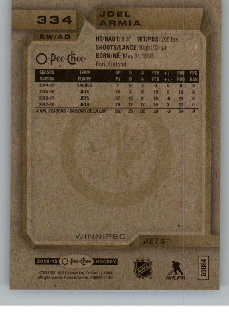 2018-19-OPC-O-Pee-Chee-Hockey-201-400-Pick-Your-Cards-Lot-Finish-Set thumbnail 243