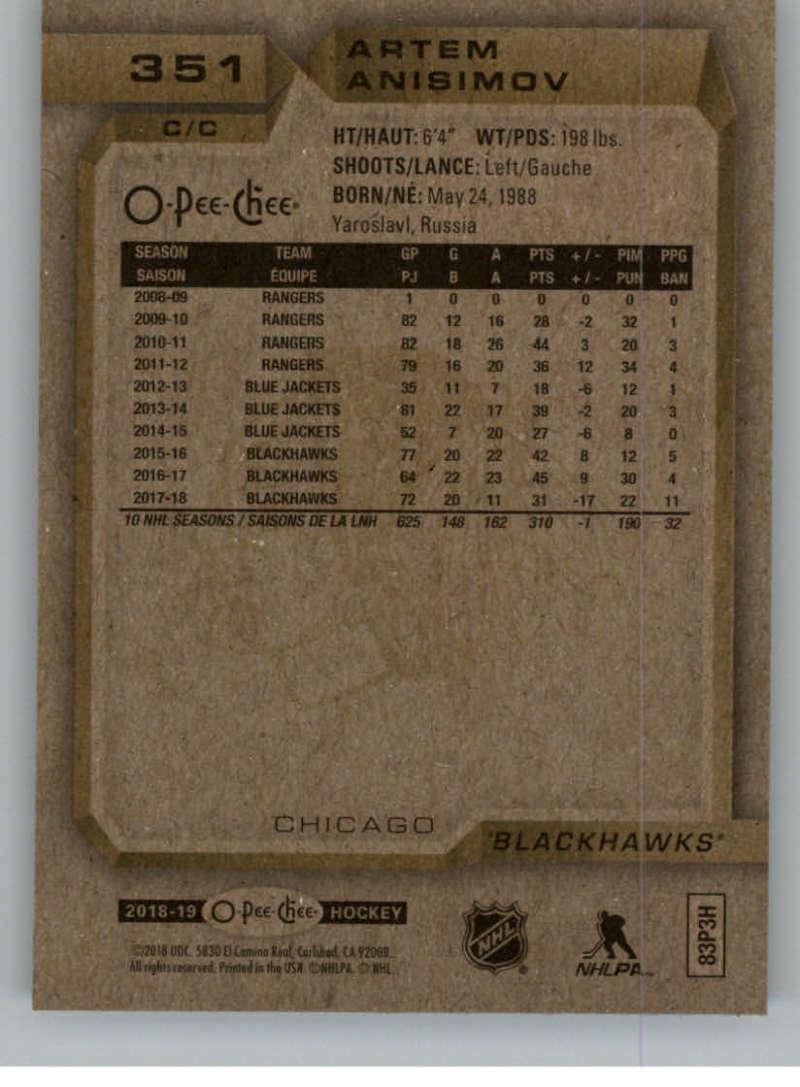 2018-19-OPC-O-Pee-Chee-Hockey-201-400-Pick-Your-Cards-Lot-Finish-Set thumbnail 275