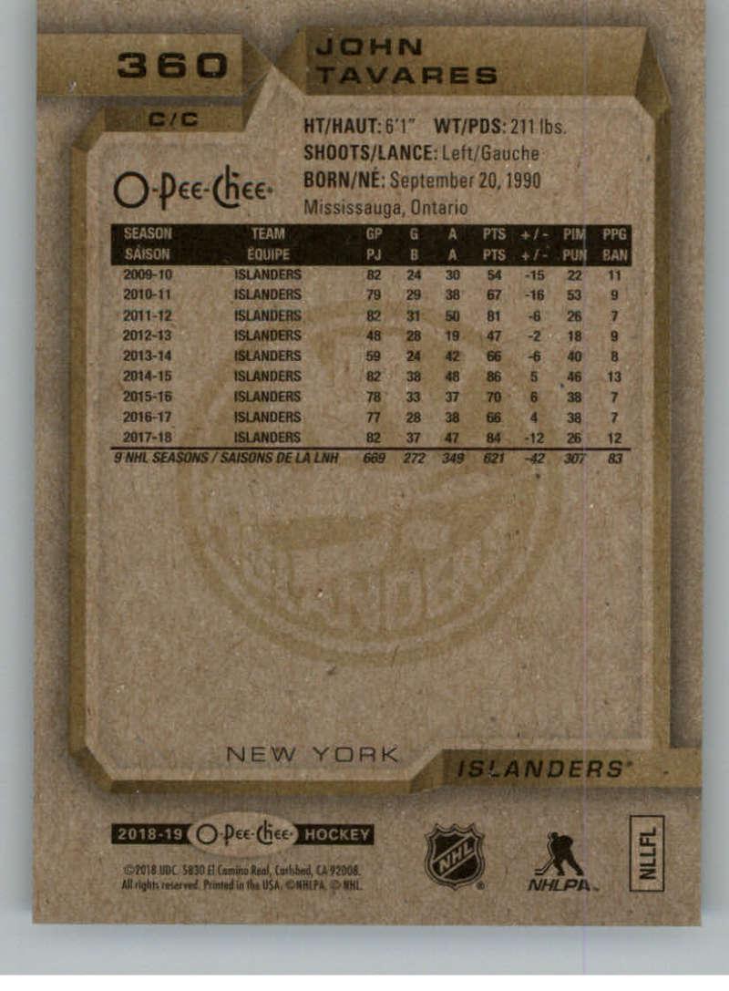 2018-19-OPC-O-Pee-Chee-Hockey-201-400-Pick-Your-Cards-Lot-Finish-Set thumbnail 293