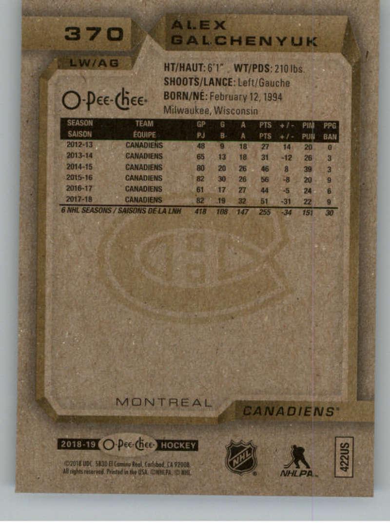 2018-19-OPC-O-Pee-Chee-Hockey-201-400-Pick-Your-Cards-Lot-Finish-Set thumbnail 311