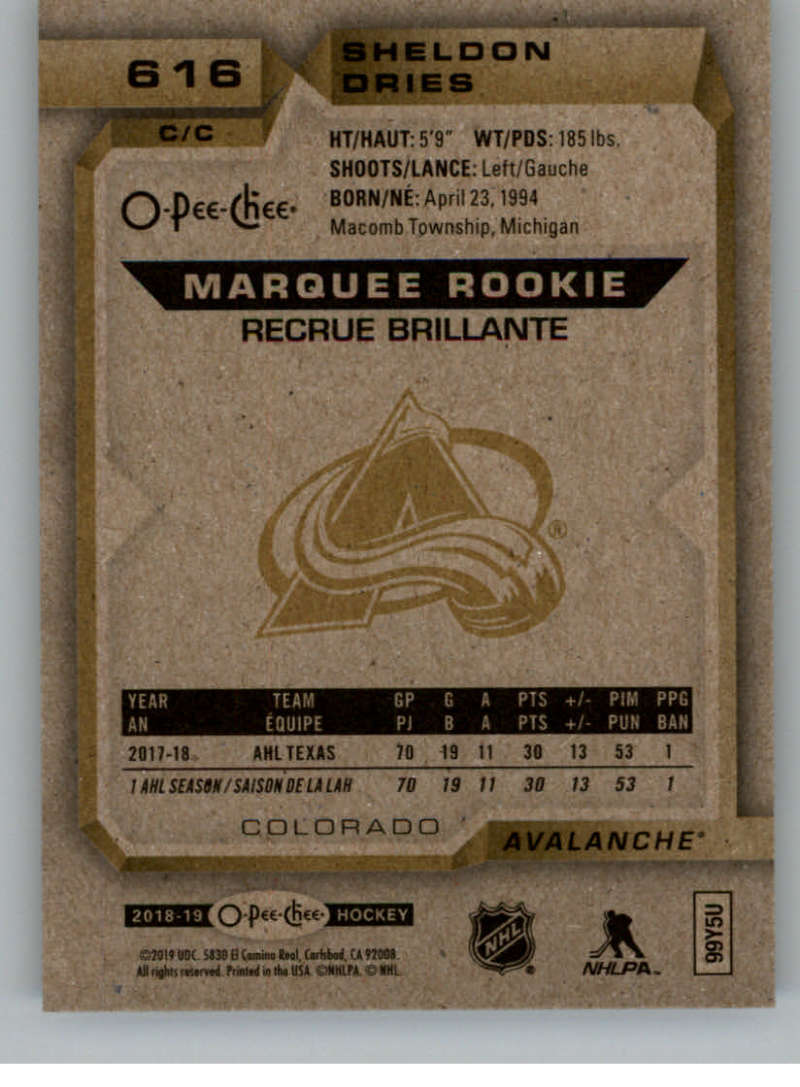 2018-19-UD-Series-2-O-Pee-Chee-Marquee-Rookies-RC-Hockey-Card-Singles-You-Pick miniature 3