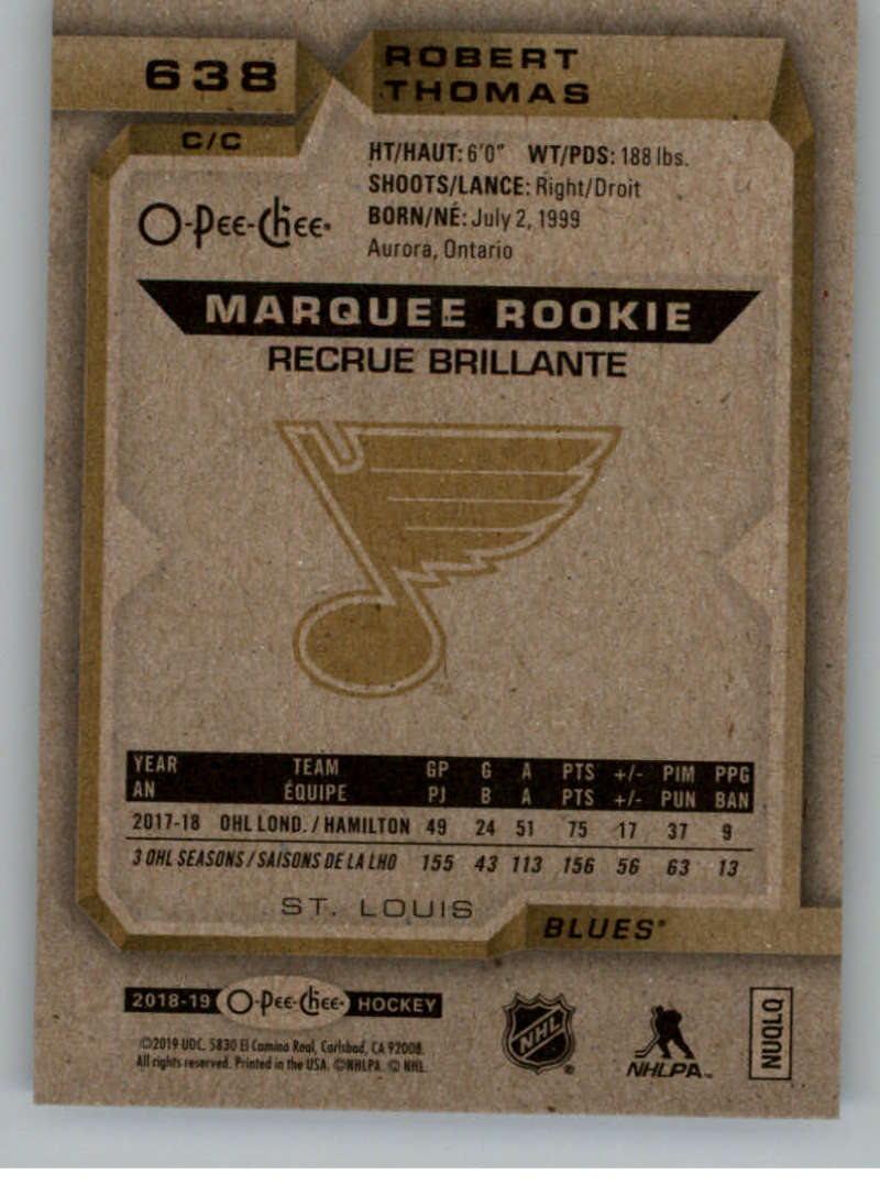 2018-19-UD-Series-2-O-Pee-Chee-Marquee-Rookies-RC-Hockey-Card-Singles-You-Pick miniature 7