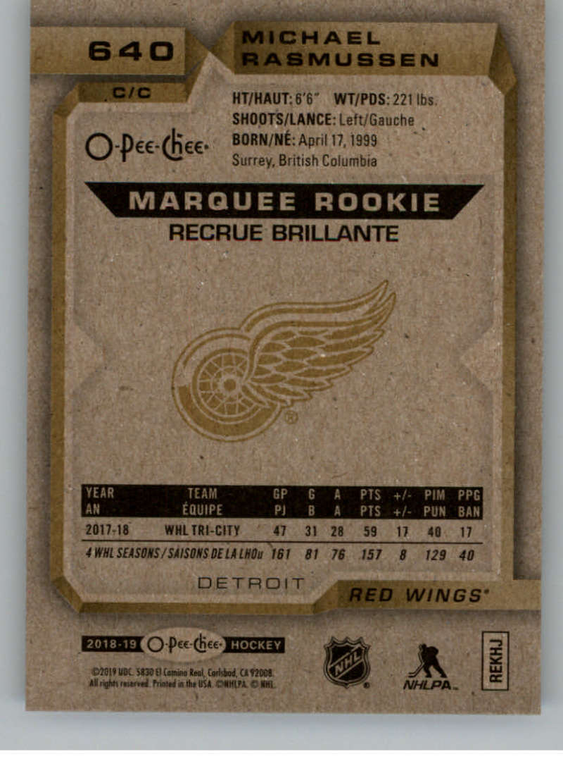 2018-19-UD-Series-2-O-Pee-Chee-Marquee-Rookies-RC-Hockey-Card-Singles-You-Pick miniature 9