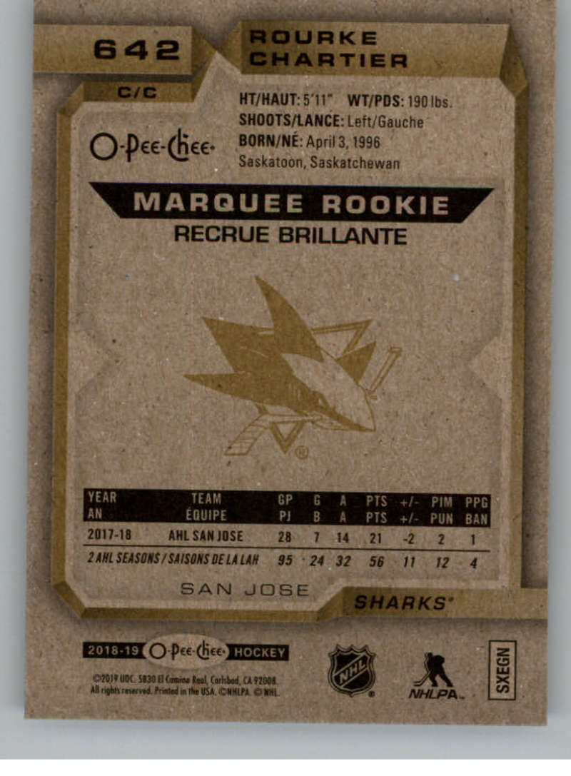 2018-19-UD-Series-2-O-Pee-Chee-Marquee-Rookies-RC-Hockey-Card-Singles-You-Pick miniature 19