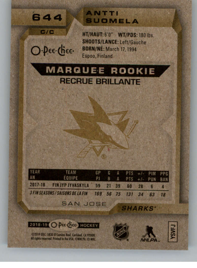 2018-19-UD-Series-2-O-Pee-Chee-Marquee-Rookies-RC-Hockey-Card-Singles-You-Pick miniature 21