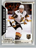 2018-19 OPC O-Pee-Chee Hockey #527 Zach Whitecloud RC Rookie SP Vegas Golden Knights  Official 18/19 NHL Trading Card
