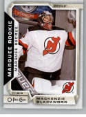 2018-19 OPC O-Pee-Chee Hockey #533 Mackenzie Blackwood RC Rookie SP New Jersey Devils  Official 18/19 NHL Trading Card