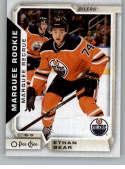 2018-19 O-Pee-Chee #540 Ethan Bear NM-MT RC SP Edmonton Oilers  Official NHL Hockey Card