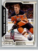 2018-19 OPC O-Pee-Chee Hockey #554 Connor McDavid SP Edmonton Oilers  Official 18/19 NHL Trading Card