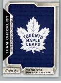 2018-19 O-Pee-Chee #563 Toronto Maple Leafs NM-MT  Official NHL Hockey Card