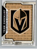2018-19 O-Pee-Chee #584 Vegas Golden Knights NM-MT  Official NHL Hockey Card